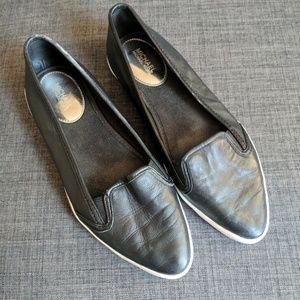 Michael Michael Kors Olive Slip On Leather Sneaker